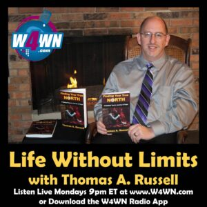Photo of podcast host Thomas A Russell